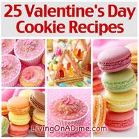 25 Valentine's Day Cookie Recipes