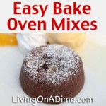 Easy Bake Oven Cake Mix Recipes