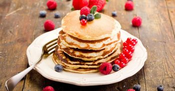 Fluffy Pancakes Recipe And Bacon Sausage Brunch
