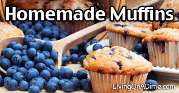 Homemade Muffin Recipes – Basic Muffin Recipe And More!
