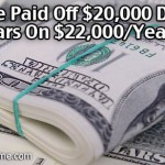 How We Paid Off $20,000 Debt In 5 Years On $22,000/Year Income