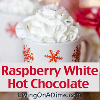 Raspberry White Hot Chocolate Recipe
