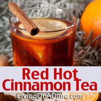 Red Hot Cinnamon Candy Tea
