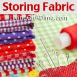 Easy Ways of Storing Fabric
