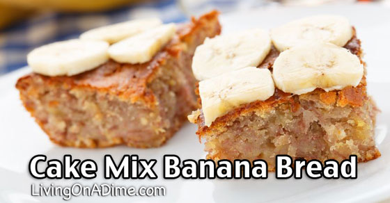 Gluten Free Banana Bread From Cake Mix