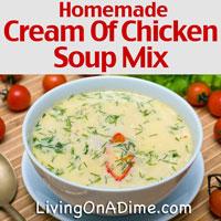 Homemade Cream Of Chicken Soup Mix Recipe