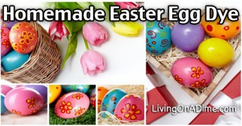 Homemade Easter Egg Dye – Decorating Eggs – Natural Dyes