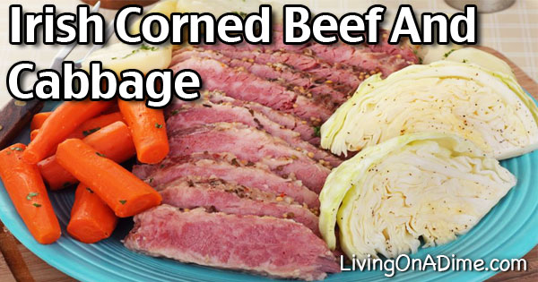 Irish Corned Beef Brisket And Cabbage Recipe
