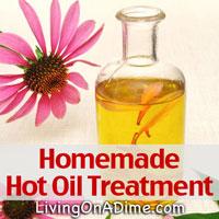 Homemade Hot Oil Treatment Recipe