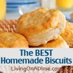 Homemade Popeye's Biscuits Recipe