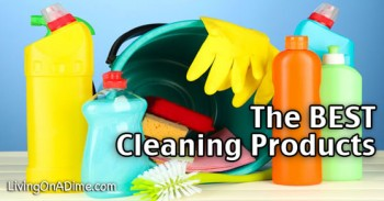 The Best Household Cleaning Products