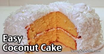 Easy Coconut Cake Recipe