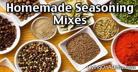 10 Homemade Seasoning Mixes And Blends Recipes