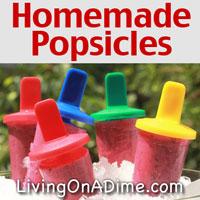 Easy Homemade Popsicles Recipe