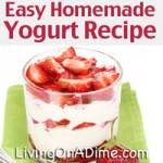 Easy Homemade Yogurt Recipe
