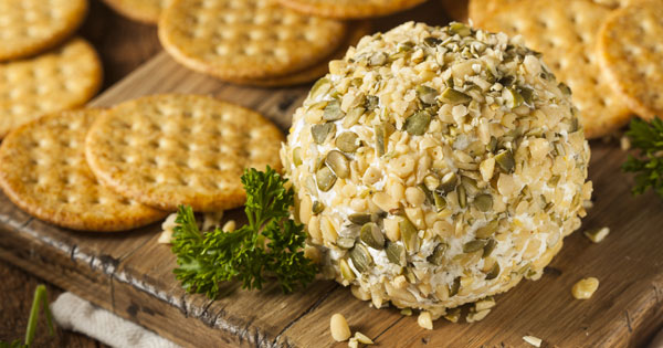 Easy 3 Ingredient Cheese Ball Recipe