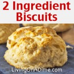 Easy 2 Ingredient Homemade Biscuits Recipe