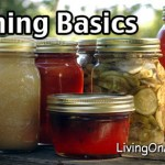 Canning and Freezing Garden Produce