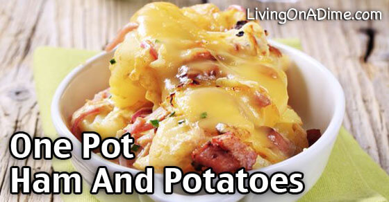 One Pot Ham And Potatoes Dinner Recipe