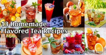 13 Homemade Flavored Tea Recipes