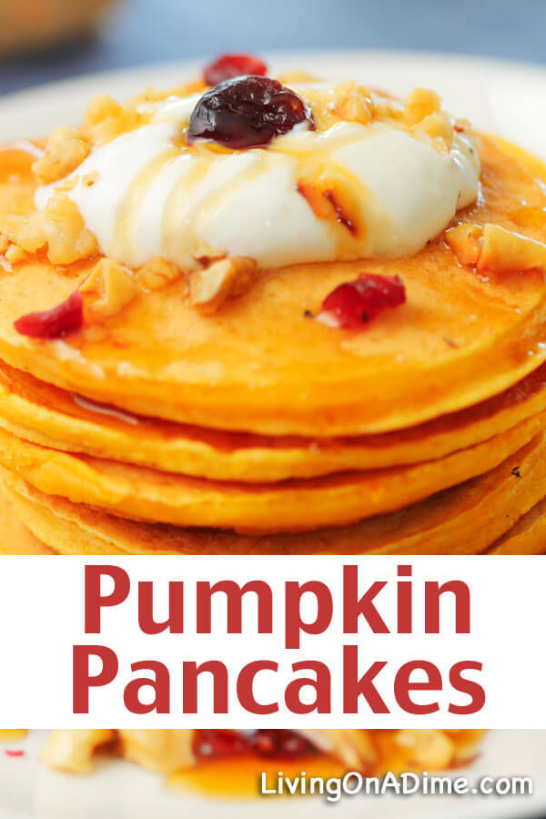 Easy Pumpkin Pancakes Recipe