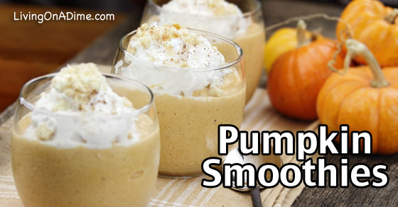 Pumpkin Smoothies