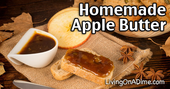 Homemade Apple Butter Recipe