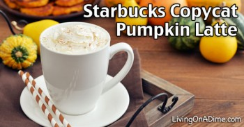 Starbucks Copycat Pumpkin Latte Recipe