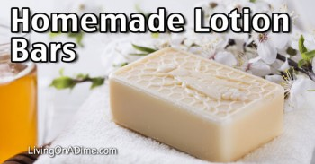 Homemade Lotion Bars Recipe - Easy And All Natural