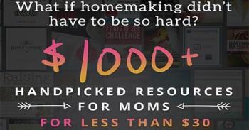 Wonderful Ultimate Homemaking Bundle Deal For You!