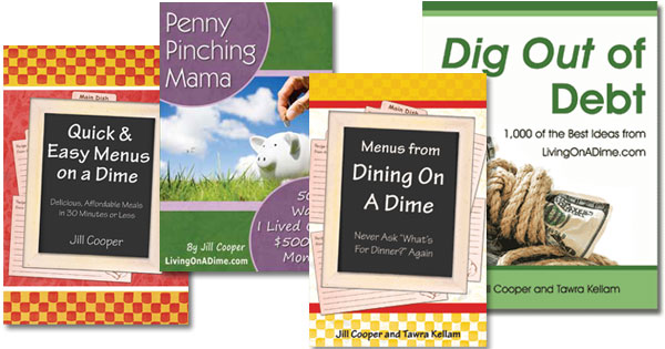 Half Price Sale At Living On A Dime! Click Here For All The Deals!