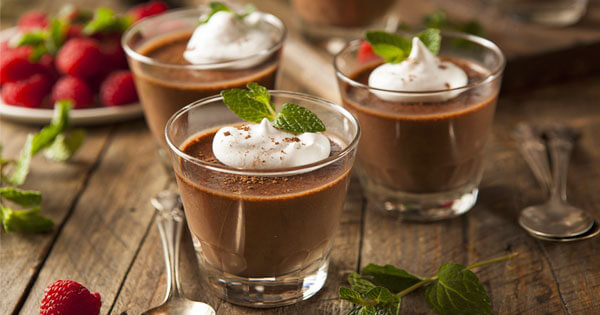 Minty Chocolate Mousse Recipe