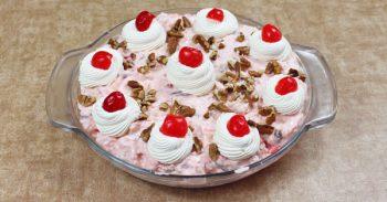 Easy No Bake Millionaire Pie Recipe