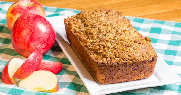 The Best Homemade Apple Bread Recipe