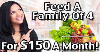Feed A Family Of 4 For $150 For 1 Month Without Aldi Or Coupons!