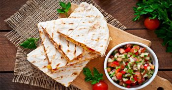 Quick And Easy Homemade Quesadillas Recipe