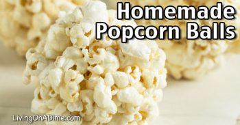Homemade Popcorn Balls Recipe
