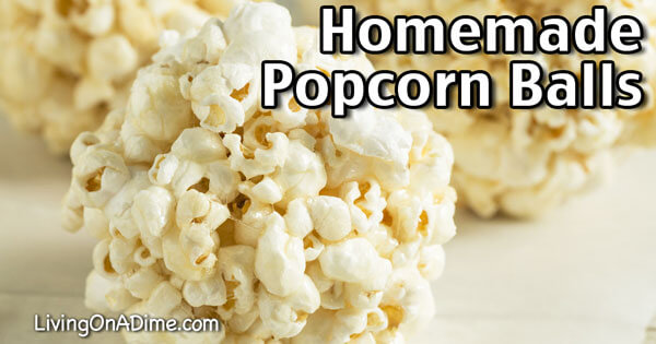 Homemade Popcorn Balls Recipe