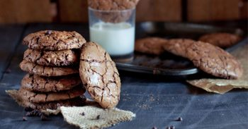 Easy Chocolate Peanut Butter Cookies Recipe