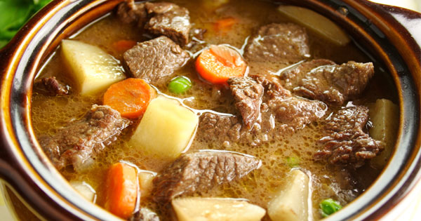 Quick And Easy Beef Stew Recipe - Mom's Crockpot Beef Stew