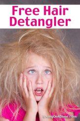 Free Homemade Hair Detangler