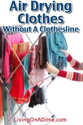 air-drying-clothes-without-clothesline