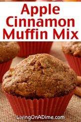 This easy apple cinnamon muffins recipe is perfect for gift basket ideas centered around baking or holiday classics! Apple cinnamon muffins are a perfect comfort food that creates the perfect holiday mood! They make a wonderful addition to a family meal and are perfect for teas and snacks. Our family loves them at Christmas and any time we're in the mood for something special.
