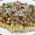 Beef And Bacon Pasta - Easy Beef Pasta Recipe!