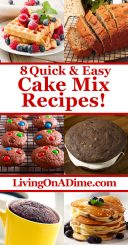 Cake Mix Recipes - Easy And Delicious Recipes With Boxed Cake Mixes!