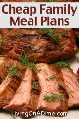 Cheap Family Meals Week 1 – Easy Slow Cooker Pot Roast Meal Plan And More!