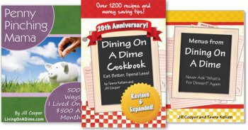 Dining On A Dime 20th Anniversary Pre-Ordering Sale