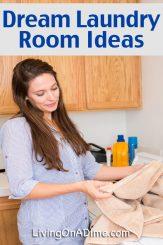 Dream Laundry Room Ideas