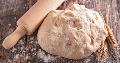 This super simple 2 ingredient dough recipe is quick and easy to make in less than 5 minutes! Low in calories and fat, it is perfect for diets like weight watchers. It's not only quick and easy, but you'll know exactly what is in it! You'll also find other easy recipes here that you can make from the dough including cinnamon rolls, pizza, bagels and more!