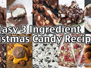 Here are 16 easy 3 ingredient Christmas candy recipes that make it easy for you to make rich and delicious Christmas candies, most with about 5 minutes' work! Try making these homemade Christmas candy recipes and you won't want to go back to store bought! These recipes are perfect for parties and family get-togethers! Everyone raves about how wonderful they taste!